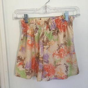 Vintage 70s Psychedelic Pastel Shorts